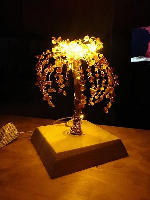 Amethyst Crystal Tree nightlight