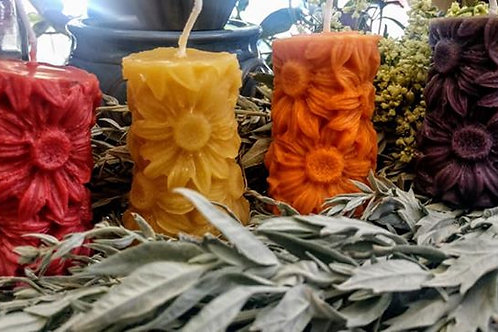 SunFlower Free Standing Scented Candles