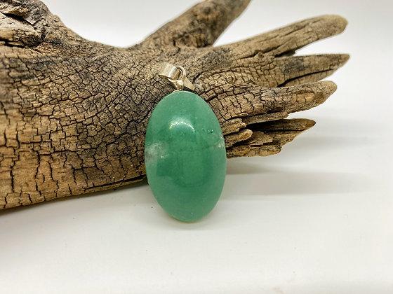 Oval Jade Pendant