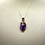 Thumbnail: Dark Purple Amethyst Pendant