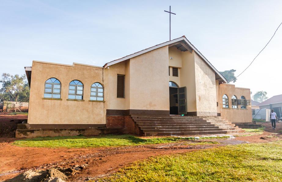 A church and a clinic