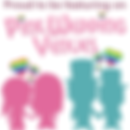 pink wedding venues logo