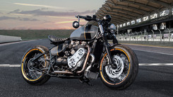 Triumph 1200 Bobber Supercharger Conversion