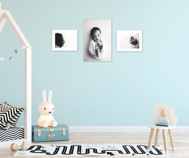 Babies room with bw gallery