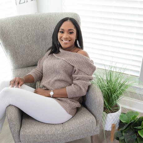 Black woman casual wear