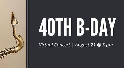 40th birthday live stream 1