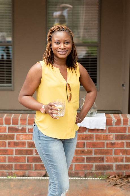 Black woman branding image