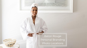 Baton Rouge Personal Branding Photo Shoot Locations