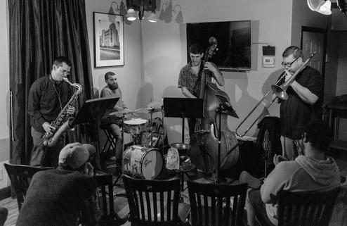 Doug Stone NOLA quartet at the Side Bar