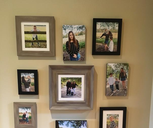 foyer wall gallery