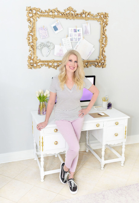 Heather Jones, web designer