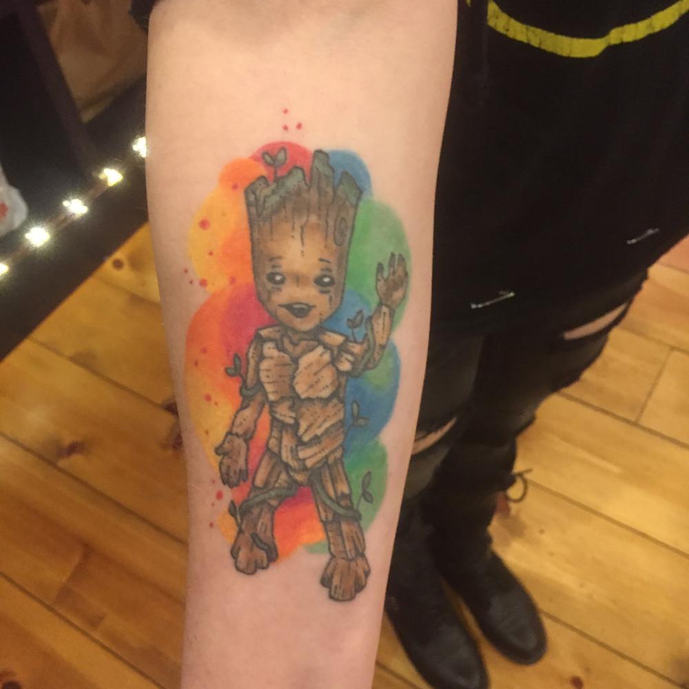 Healed Groot by Amanda