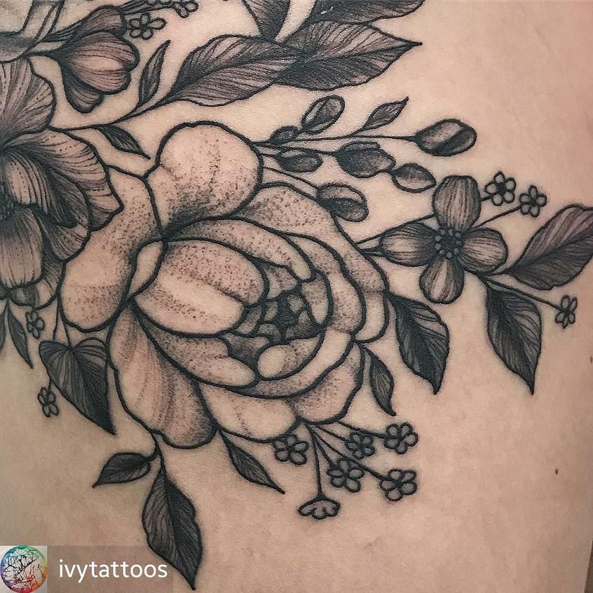 Thigh Floral