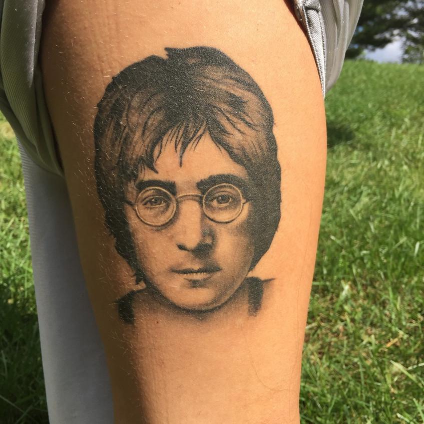 John Lennon Portrait - Healed