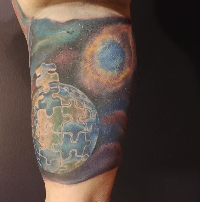 Space Sleeve by Jessie
