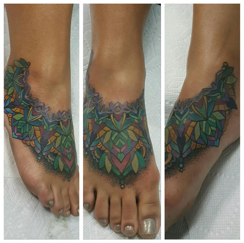 Foot Mandala (Cover up)