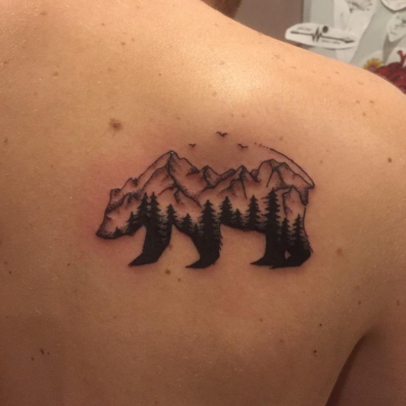 Mountain Range Bear