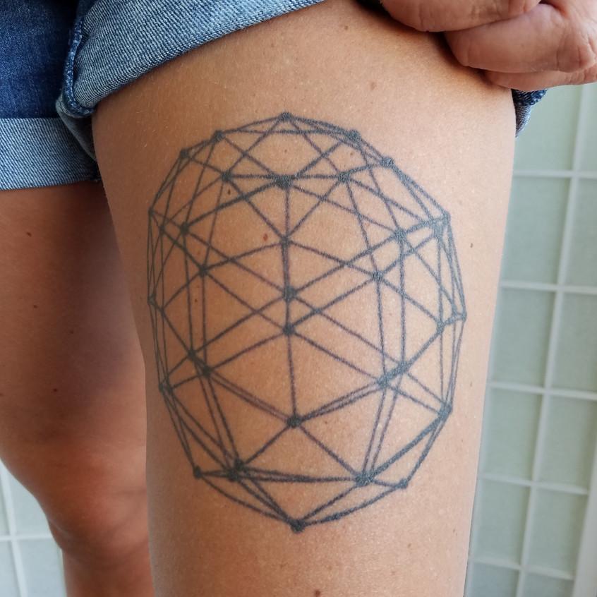 Geometric Sphere - Healed