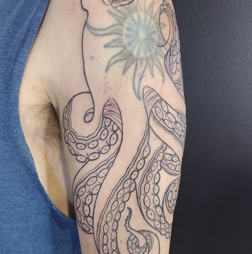 Octopus Cover up