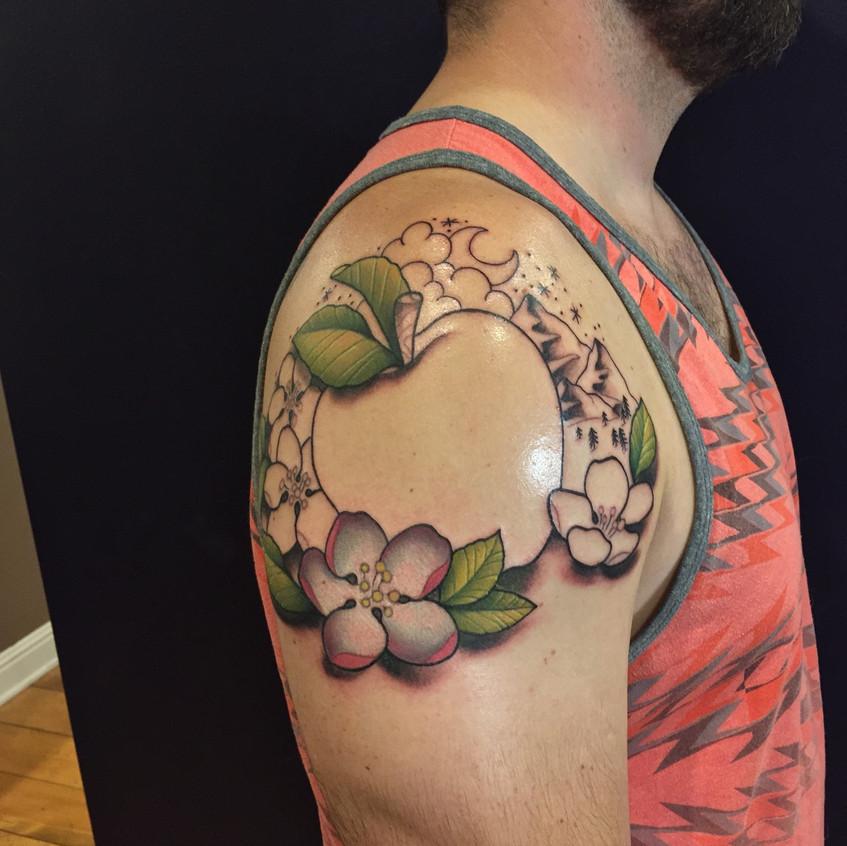 Apple Shoulder Design