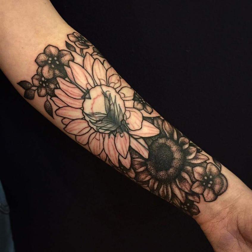 Flower Cover Up (In Progress)
