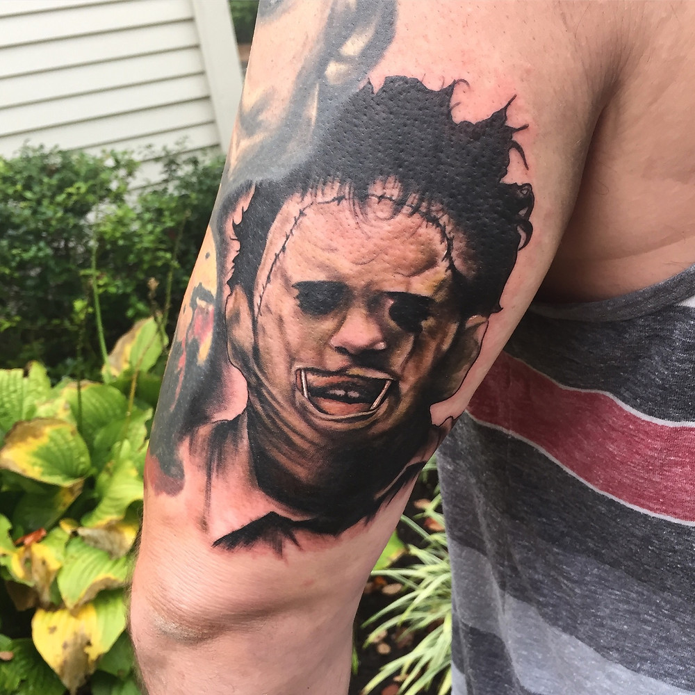 Leatherface by Dale!!