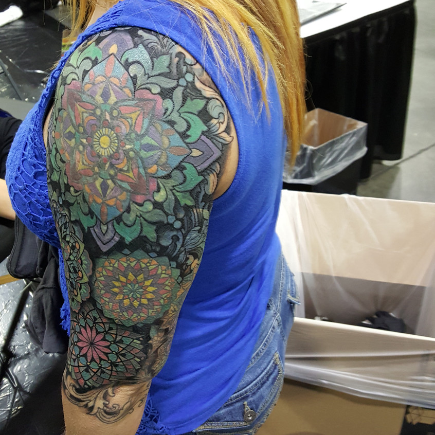 Shoulder Mandala (cover up)