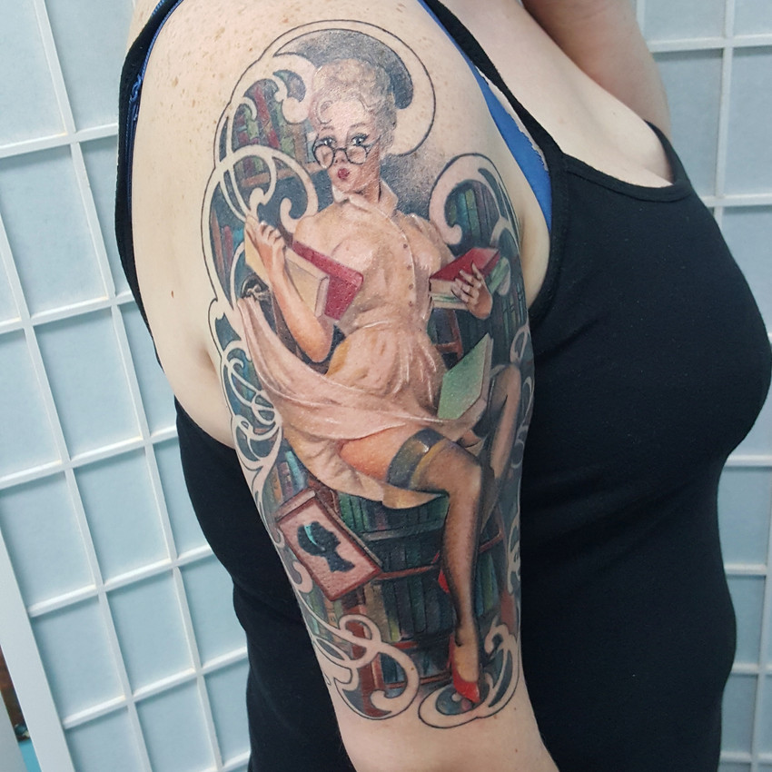 Healed Librarian