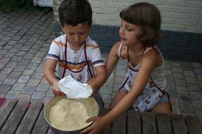 kikkererwten pannenkoeken