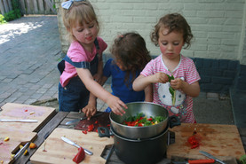 koken met groetjes uit de tuin