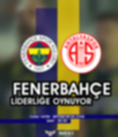Fenerbahçe - Antalyaspor Canlı Maç