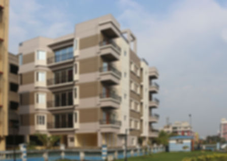 HIG Cooperative Building at New Town Kol
