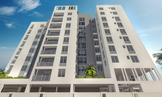 G+9 Cooperative Apartment Building at New Town