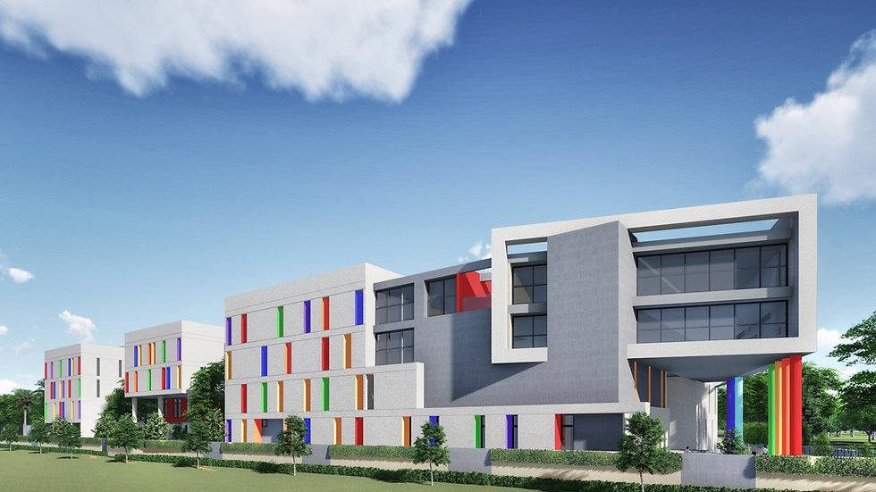 Sunshine International School by best Architect ArcOn Design most creative design ideas for School