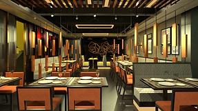Arsalan Restaurant Interior, Prince Anwar Shah