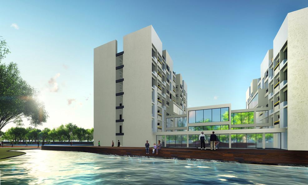 Hostel block SDIS International Best School architect