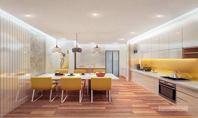 Kitchen Interior at Promont, Bengaluru