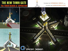 New Town Gate Kolkata NKDA HIDCO Archite