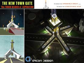 New Town Gate Kolkata NKDA HIDCO Archite
