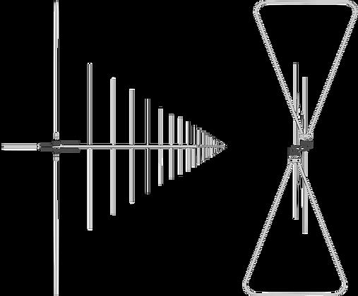 Логопериодическая антенна VULB 9162 Внесена в Госреестр: № 52695-13