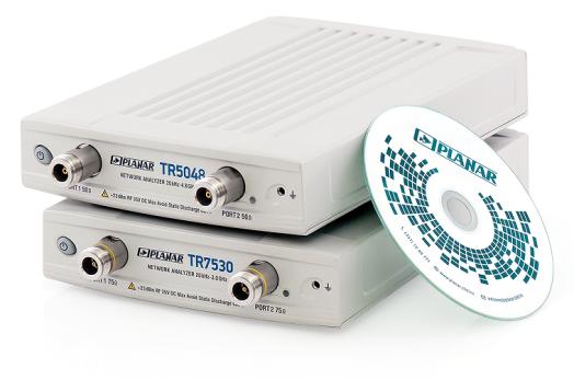 Векторные анализаторы цепей TR5048 и TR7530 (Planar)