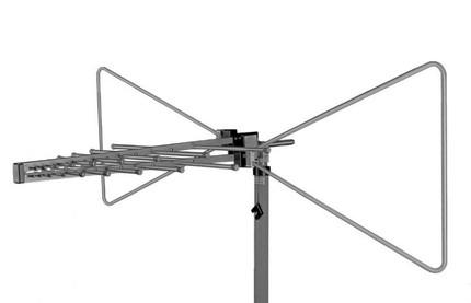 Пассивная гибридная логопериодическая приемо-передающая антенна Schwarzbeck VULB 9168