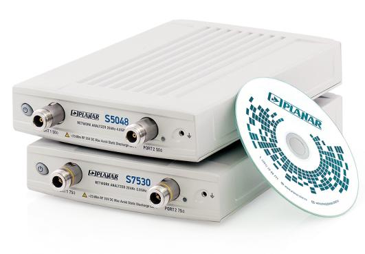 Векторные анализаторы цепей S5048 и S7530 (Planar)