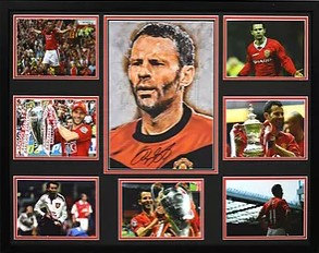 Win a signed Ryan Giggs Montage