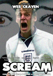 Stuart Pearce Scream Poster