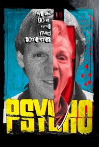 Stuart Pearce Psycho Poster