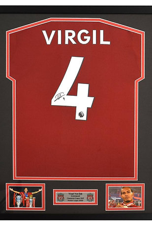 Win a signed Virgil Van Dijk Liverpool shirt
