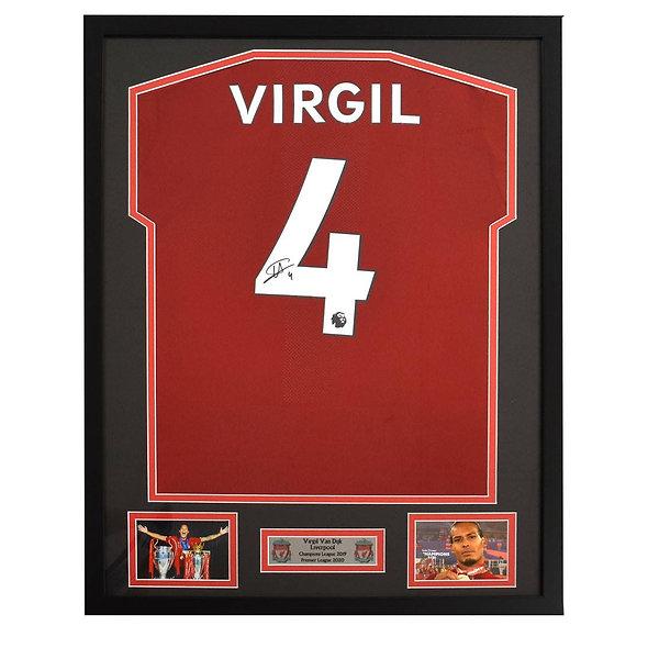 Win a signed Virgil Van Dijk Liverpool shirt
