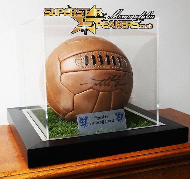 Win a signed Sir Geoff Hurst Ball