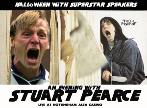Stuart Pearce The Shining Psycho